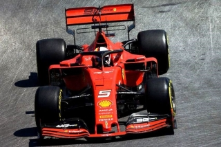 Ferrari SF90 #5 S.Vettel Canada GP 2019 1:43 Look Smart Models