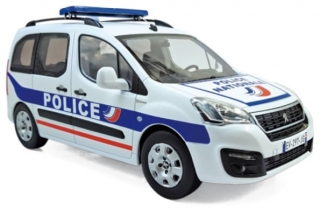 Peugeot Partner 2017 Police Nationale 1:18 Norev