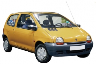 Renault Twingo 1993 indian yellow 1:18 Norev