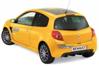 Renault Clio RS F1 Team 2007 sirius yellow 1:18 Norev