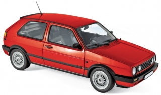 Volkswagen Golf GTi 1990 red 1:18 Norev
