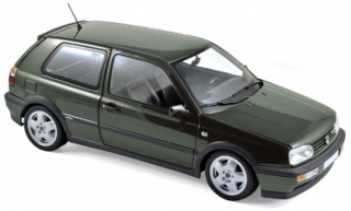 Volkswagen Golf VR6 1996 green metallic 1:18 Norev