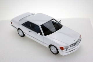 Mercedes-Benz S-Class 560 SEC Lorinser C126 Coupe 1987 white 1:18 LS Collectibles