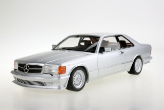 Mercedes-Benz S-Class 560 SEC Lorinser C126 Coupe 1987 silver 1:18 LS Collectibles