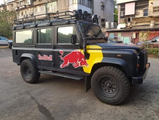 Land Rover Defender Red Bull *Luka* Promotional Vehicle 1:43 TSM Model