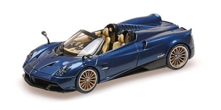 Pagani Huayra Roadster 2017 carbon blue 1:43 Almost Real