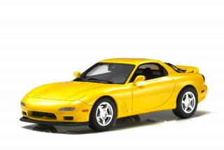 Mazda RX-7 1994 yellow 1:18 LS Collectibles