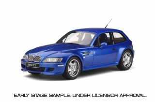 BMW Z3 M Coupe 3.2 estoril blue 1:18 OttOmobile