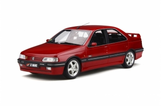 Peugeot 405 Mi16 Le Mans 1993 rouge Lucifer 1:18 OttOmobile