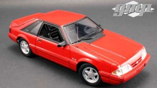 Ford Mustang Cobra 1993 red/black interior 1:18 G.M.P