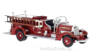 Ahrens Fox VC shively Fire Dept. 1938 1:43 Lucky Diecast