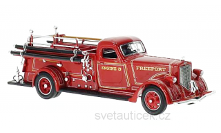 American LaFrance B-550RC Fire Brigade 1939 1:43 Lucky Diecast