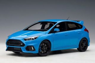 Ford Focus RS 2016 nitrous blue 1:18 AUTOart