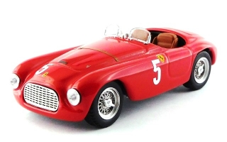 Ferrari 166MM Barchetta ch.0010 #5 France Comminges 1949 L.Chinetti 1:43 Art Model