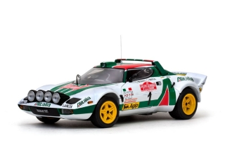 Lancia Stratos HF Rally #1S.Munari/S.Maiga 2nd San Remo Rally 1:18 Sun Star