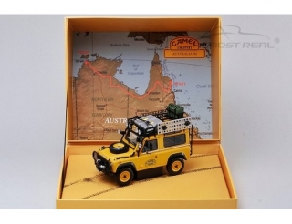 Land Rover 90 - Camel Trophy Edition Event 1986 yellow 1:43 Almost Real