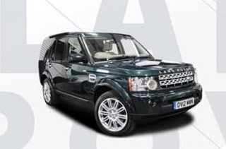 Land Rover Discovery IV 2016 green 1:18 Motorhelix