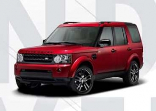 Land Rover Discovery IV 2016 red 1:18 Motorhelix