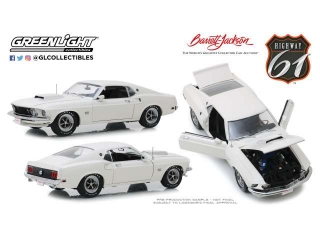 Ford Mustang Mach 1 Ford Rally Team white 1:18 Highway 61