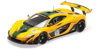 McLaren P1 GTR 2015 yellow 1:18 Almost Real