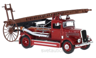 Dennis Light Four Oakham & Uppingham Districts Joint 1938 1:43 Lucky Diecast