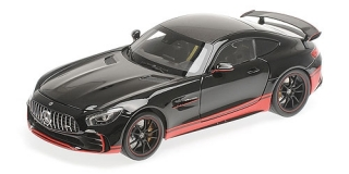Mercedes-Benz AMG GT R black/red stripe 1:18 Almost Real