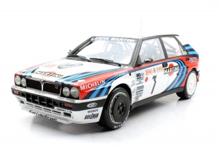 Lancia Delta HF 16V #7 Auriol/Occelli Winner Rally Monte Carlo 1990 1:12 Top Marques Collectibles