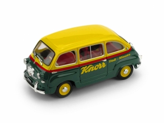Fiat 600 Multipla Veicolo commerciale 1956 Brodo Knorr 1:43 Brumm