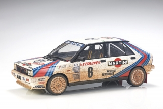 Lancia Delta 4WD #6 Biasion/Siviero Winner Rally Monte Carlo 1987 Dirty Version 1:12 Top Marques