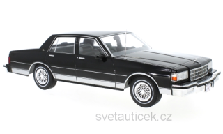 Chevrolet Caprice 1987 black 1:18 MCG Modelcar Group