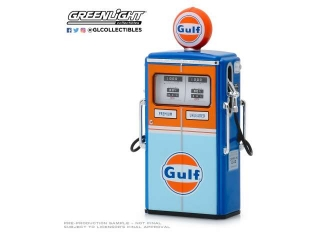 Tokheim 350 Twin Gas Pump Gulf Oil *Vintage Gas Pumps Series 7* 1:18 GreenLight