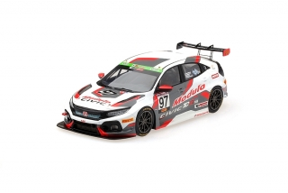 Honda Civic R TCR 2018 Suzuka Winner Modulo Racing Super Taikyu 1:43 TSM Model