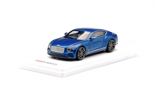 Bentley Continental sequin blue 1:43 TSM Model