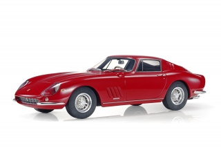 Ferrari 275 GTB/4 Coupe Personal Car Steve Mc Queen 1966 red 1:12 Top Marques Collectibles