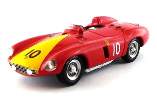 Ferrari 750 Monza #10 2nd GP Venezuela 1955 A.De Portago 1:43 Art Model
