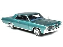 Pontiac Grand Prix 1964 aquamarine green 1:43 Goldvarg Collection