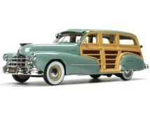 Pontiac Streamlined Woodie Station Wagon 1948 genesee green 1:43 Goldvarg Collection