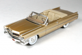 Cadillac De Ville Cabriolet Open 1964 gold 1:43 Goldvarg Collection