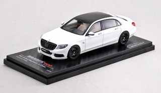 Brabus 900 Mercedes-Maybach S600 diamond white 1:43 Almost Real