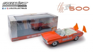 Dodge Challenger 55th Indianapolis 500Mile Race Dodge Official Pace with Orange Flags 1:18 Greenlight