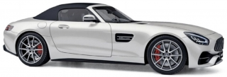Mercedes-AMG GT C Roadster 2019 white metallic 1:18 Norev