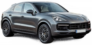 Porsche Cayenne Coupe Turbo 2019 dark grey metallic 1:18 Norev