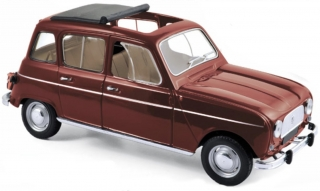 Renault 4 L 1966 dark red 1:18 Norev