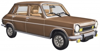 Simca 1100 TI 1974 sandalwood metallic 1:18 Norev