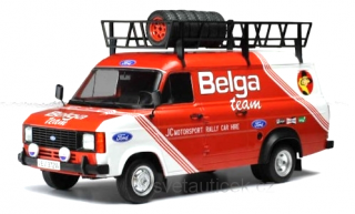 Ford Transit MK II Belga with Roof Accessories 1:18 Ixo Models