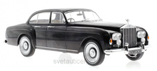Rolls Royce Silver Cloud III Flying Track H.J.Mulliner 1965 black 1:18 MCG Modelcar Group