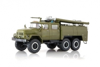 ZIL 131 Fire Engine AC-40 Military 1:43 SSM Start Scale Models