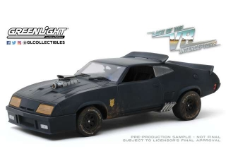 Ford Falcon XB Weathered Version *Last of the V8 Interceptors 1979* 1973 black 1:18 Greenlight