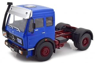Mercedes-Benz NG 1632 Tractor Truck 1973 blue/red 1:18 Road Kings