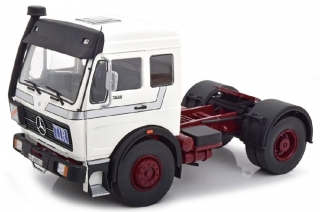 Mercedes-Benz NG 1632 Tractor Truck 1973 white/red 1:18 Road Kings
